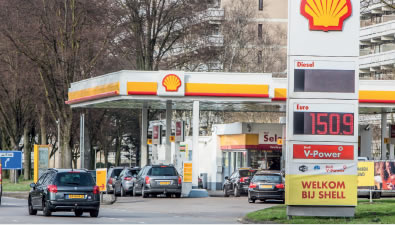 SHELL KENNEDYLAAN OOST